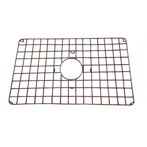 "Ariellina Copper Sink Grid For 33"" Undivided Sinks"
