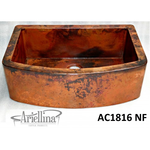ARIELLINA CURVA HAMMERED COPPER DECOR UNDIVIDED