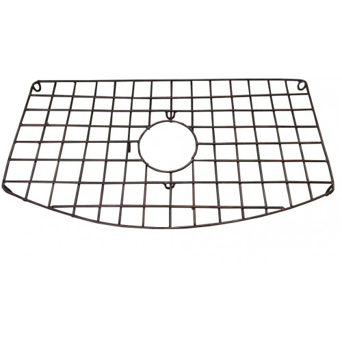 "Ariellina Copper Sink Grid For 33"" Curva Undivided Sinks"