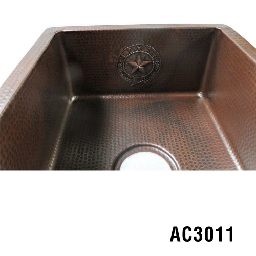 ARIELLINA TEXAS SEAL DECOR BAR & PREP SINK 18""