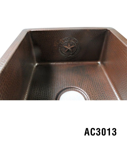 ARIELLINA TEXAS SEAL DECOR BAR & PREP SINK 15""