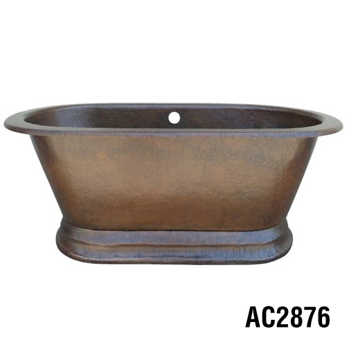 Ariellina Soaker Copper Tub