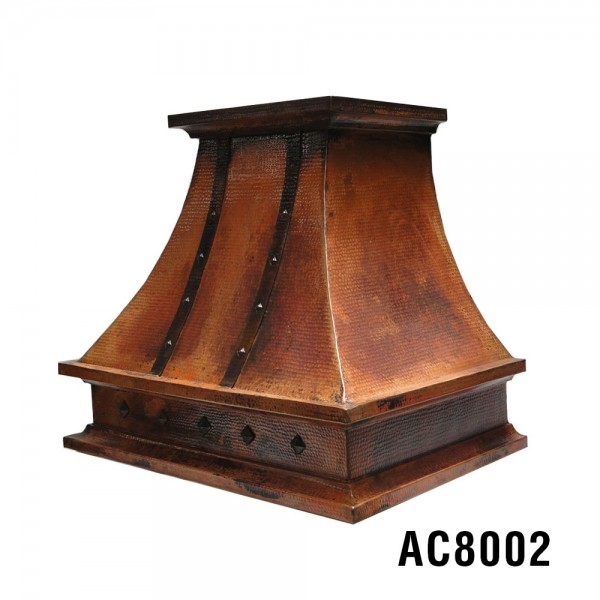 "36"" Wall Mount Copper Rangehood AC8002"