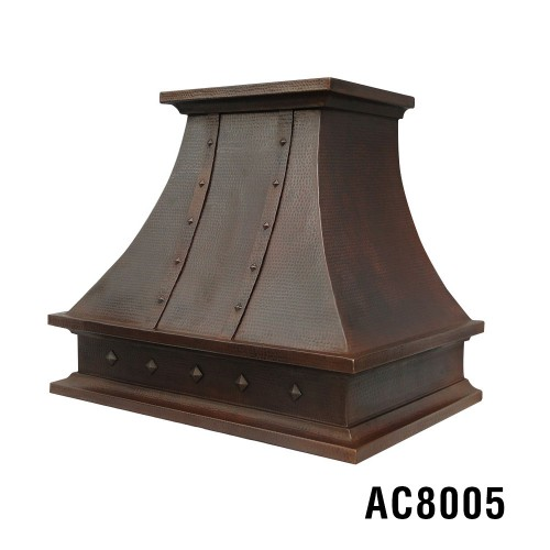 "36"" Wall Mount Copper Rangehood AC8005"