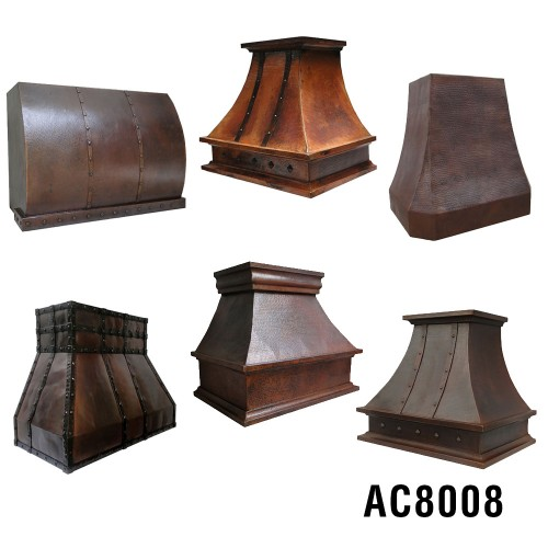 Ariellina Custom Copper Range Hood