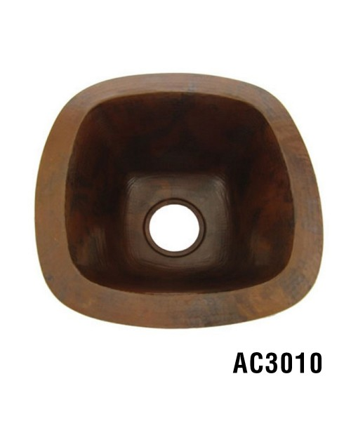 ARIELLINA HAMMERED COPPER  BAR & PREP SINK AC3010
