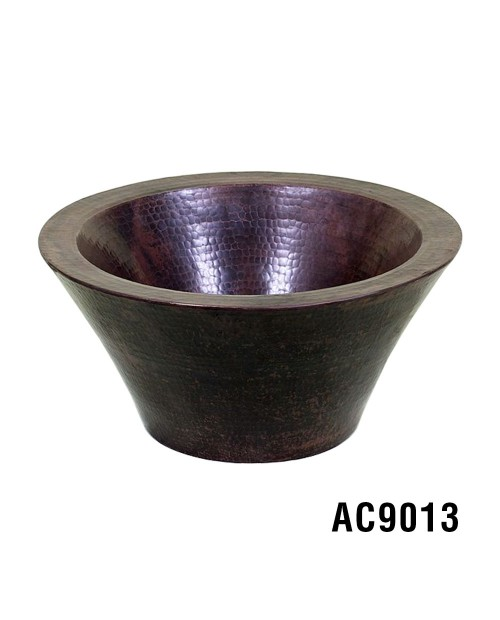 "Ariellina 15.5"" Double Wall Vessel Copper Sink"