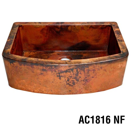 ARIELLINA CURVA SMOOTH COPPER DECOR UNDIVIDED