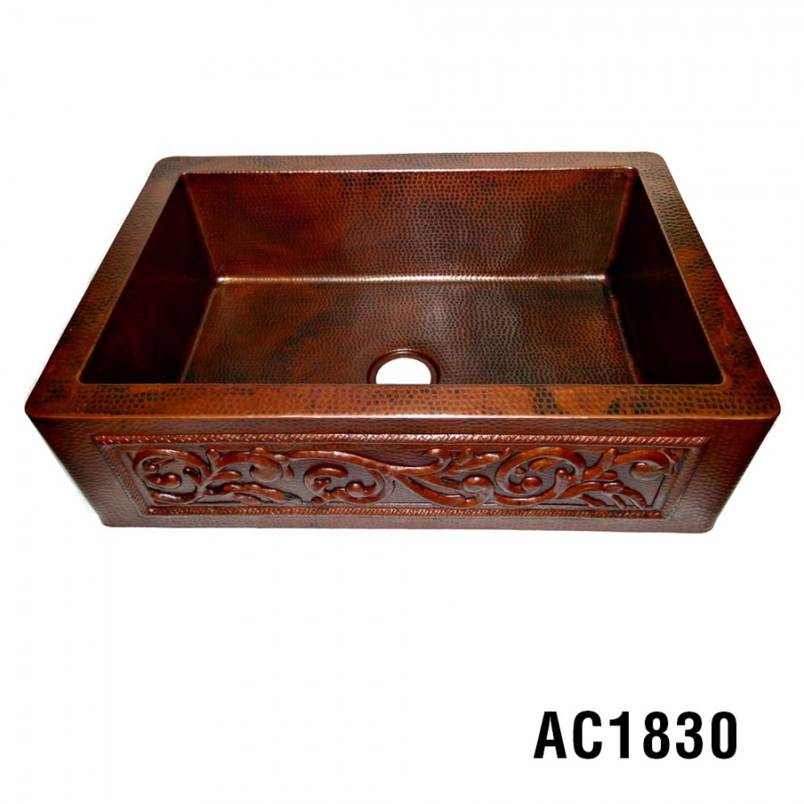 Best Copper Farmhouse Kitchen Sinks | Farmhouse Copper Undermount ...