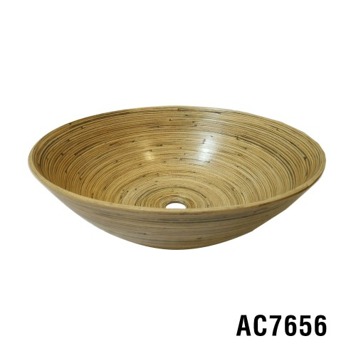 Ariellina Limited Hand Turned Bamboo Sink AC7656